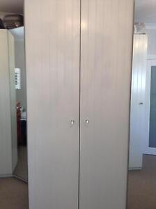 Ikea Pax Wardrobe Chic White Hamptons Style Doors Bargain! North Sydney North Sydney Area Preview