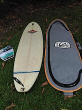 """7'6"""" Peter White Classic Mini Mal surfboard with bag Noosa Heads Noosa Area Preview"""