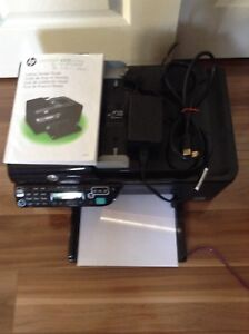 HP wireless printer scanner and fax