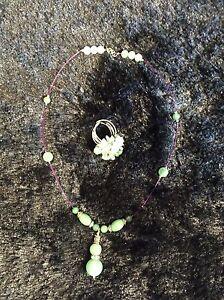 Beautiful jade set