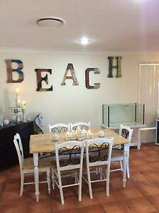 Shabby Chic, Coastal Dining Suite & 6 Chairs Upper Coomera Gold Coast North Preview