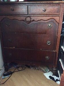 Two old dressers
