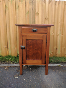 Retro wooden cupboard sold pending pickup Lindisfarne Clarence Area Preview