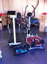 Gym Package Exercise Bike,Tredmill,Ab Swing Chelsea Kingston Area Preview