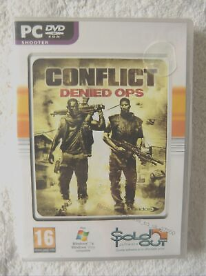 37550 - Conflict Denied Ops [NEW / SEALED] - PC (2007) Windows 7  for sale  Shipping to Nigeria