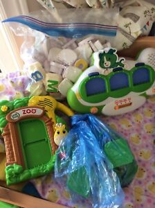 Baby toys and booster seats