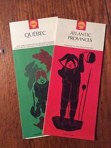 Two 1970 Fold-out Road Maps London Ontario image 1