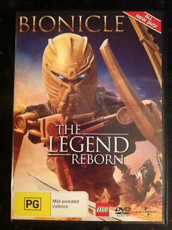 Bionicle The Legend Reborn DVD Lego movie