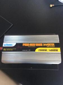 2000w inveter 12v to 240v never used great condition Elwood Port Phillip Preview