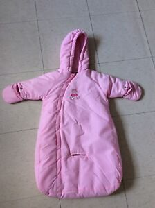Faded glory baby girl 6-9 month snow suit