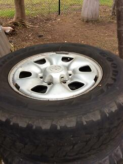 5 Toyota Hilux Wheels & Tyres Rosebery Palmerston Area Preview
