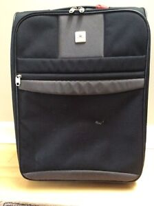 """""""Delsey """" black carry on"""