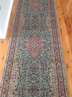Beautiful hallway rug