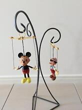Mickey Mouse and Pinnochio marrionettes Victoria Point Redland Area Preview