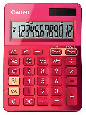 Canon Metallic Pink Calculator LS-123K