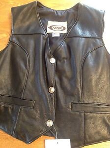 Ladies XL (size 16) Leather Vest