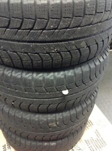 205/55R16 Michelin X-Ice Snow tires