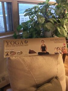 YOGA DVD Training Kit; DVD, Stretching Strap,Mat,Music CD