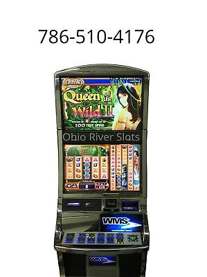 "Williams Bluebird 2 Slot Machine ""Queen of the Wild 2"""