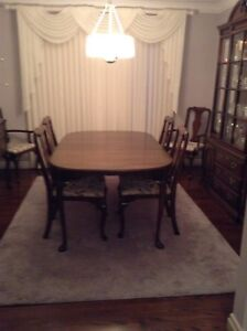 Harden solid cherry dining room