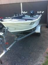 3.8m brooker albatross tinny,custom,25hp Yamaha like new,lots new Endeavour Hills Casey Area Preview