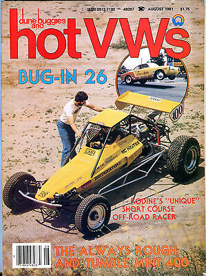 Dune Buggies and Hot VWs August 1981 Bug-In 26 EX 020816jhe