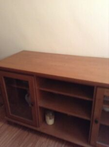 Solid wood cabinet or TV stand