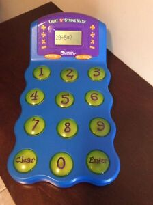 Large Children's Learning Calculator - Lights Up