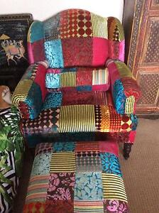 Far Pavillion arm chair and footstool Eastern Heights Ipswich City Preview