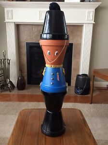 Flower Pot Christmas Soldier