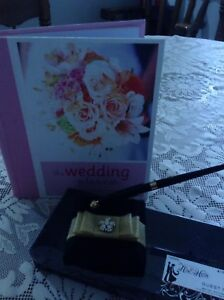 Wedding planner and guest pen. Not usef