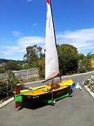 "Sabre sailing dinghy  ""JOYRIDE"" Hobart CBD Hobart City Preview"