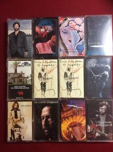 Eric Clapton cassette tapes