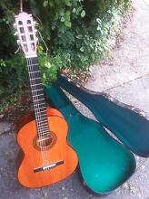Classical Guitar with hard case Belgrave Yarra Ranges Preview