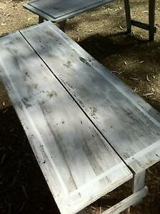 hall trestle tables old pine timber  hand made Southport Gold Coast City Preview