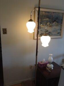 Vintage pole lamp