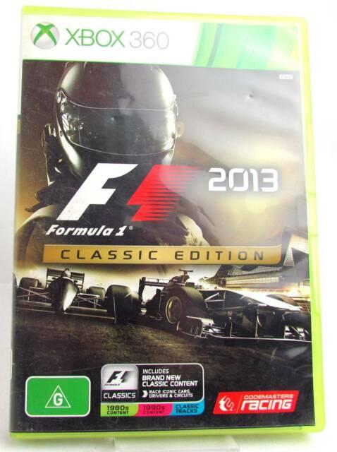 F1 2013: Classic Edition - Xbox 360 | Xbox | Gumtree Australia
