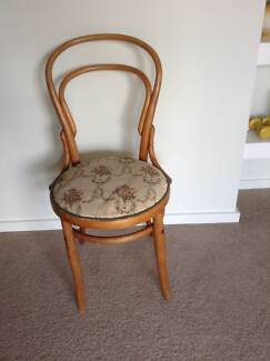 antique bentwood chair lovely upholstery Helena Valley Mundaring Area Preview