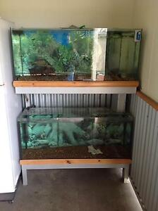 4ft x2 fish tanks and filter Stockton Newcastle Area Preview