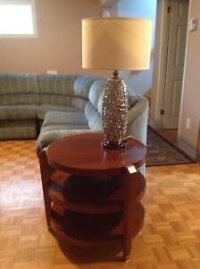 Table de bout en bois franc (chêne) ou autres utilisations