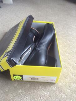 Bloch Tap Shoes Show-Tapper Black Leather Size 10 Greenwood Joondalup Area Preview