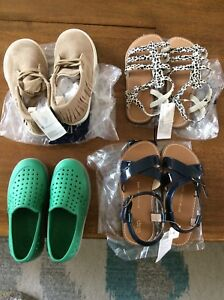 Gap shoes 3 nwt, 1 vguc , size9-10
