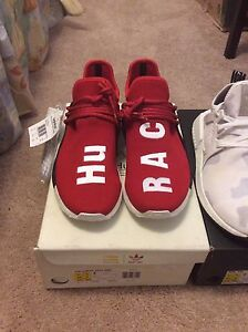 Brand new scarlet red nmd human race