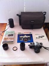 Pentax Spotmatic F camera with 50mm and 135mm lenses Hughes Woden Valley Preview