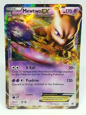 Pokemon Legendary Treasures - Mewtwo EX 54/113 - LP