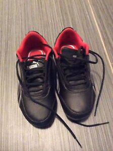 Boys size 12.5 Puma shoes