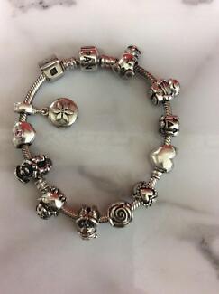 Genuine pandora bracelet and charms High Wycombe Kalamunda Area Preview