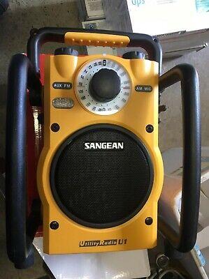 Sangean U1 AM/FM-RBDS/Weather Alert/Aux-in Ultra Rugged radio receiver