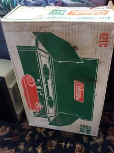 Coleman stove in box liquid gas