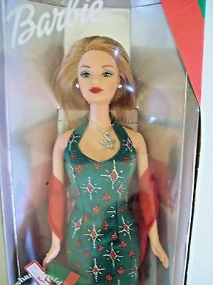 2000 Barbie Holiday Surprise Christmas Mackie Face Doll 27290
